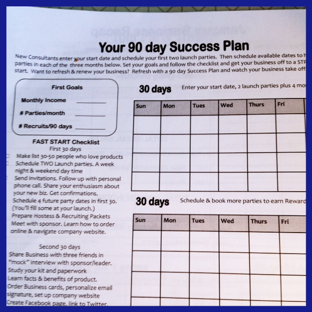 first 90 day plan template - have a 90 day success system for your direct sales team